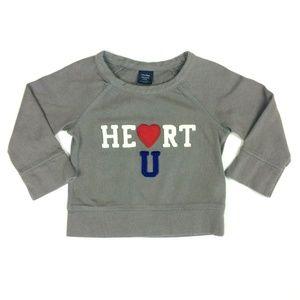 Baby Gap Unisex 18-24 months Applique Sweatshirt